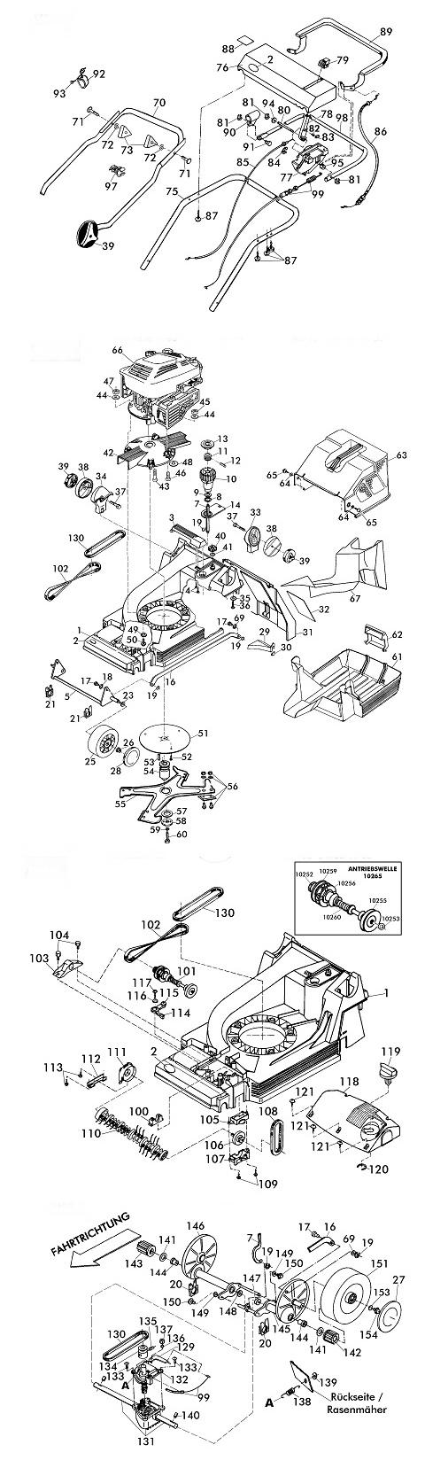ersatzteile f r brill 40 bhr mulchcut gartenartikel g nstig online. Black Bedroom Furniture Sets. Home Design Ideas