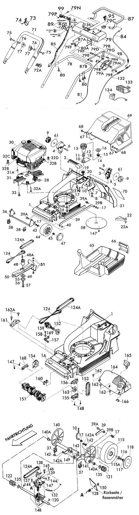 ersatzteile f r brill 40 bhr v12 gartenartikel g nstig online kaufen. Black Bedroom Furniture Sets. Home Design Ideas