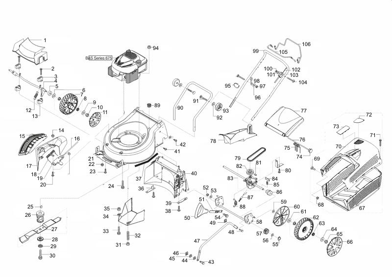 ersatzteile f r brill steelline 52 xl r 6 0 q art nr 119368 gartenartikel. Black Bedroom Furniture Sets. Home Design Ideas