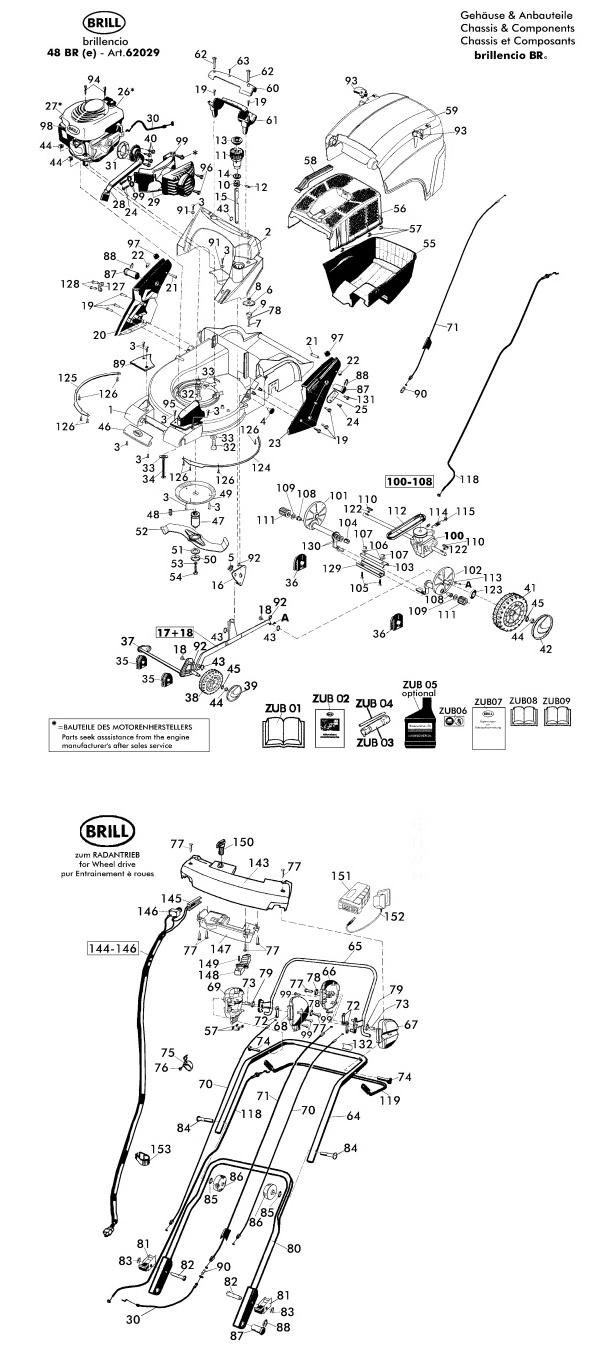 ersatzteile f r brill brillencio 48 bre 62029 gartenartikel g nstig online kaufen. Black Bedroom Furniture Sets. Home Design Ideas