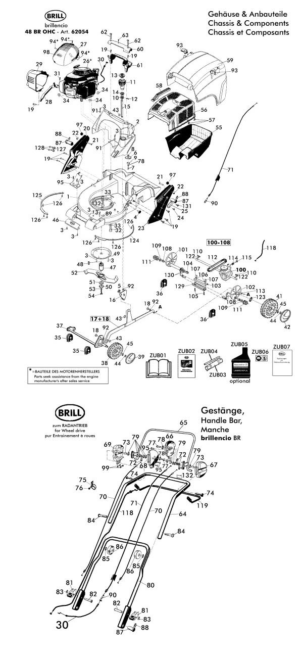 ersatzteile f r brill brillencio 48 br ohc 62054 gartenartikel g nstig online. Black Bedroom Furniture Sets. Home Design Ideas