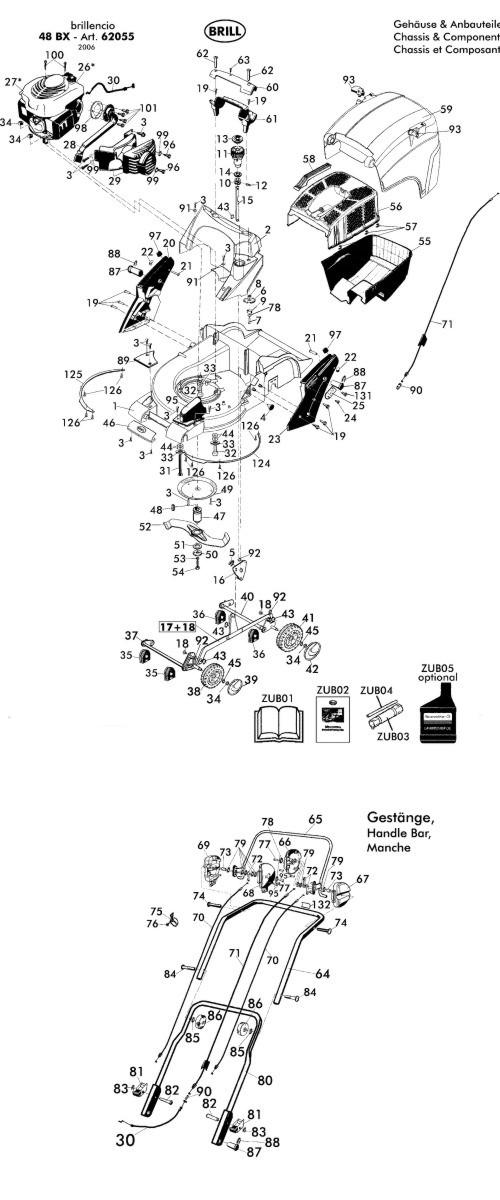 ersatzteile f r brill brillencio 48 bx 62055 gartenartikel g nstig online kaufen. Black Bedroom Furniture Sets. Home Design Ideas